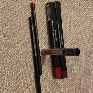 Lip pencil + cream lip stain